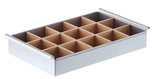 Steel tray basket